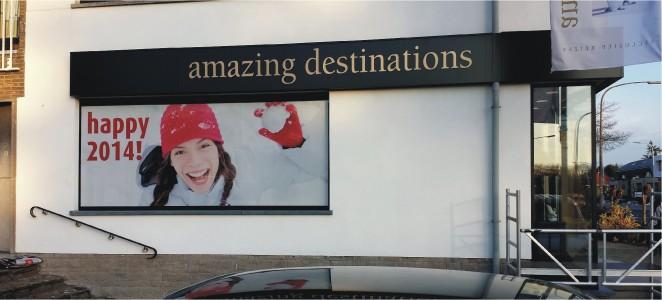 Amazing destinations